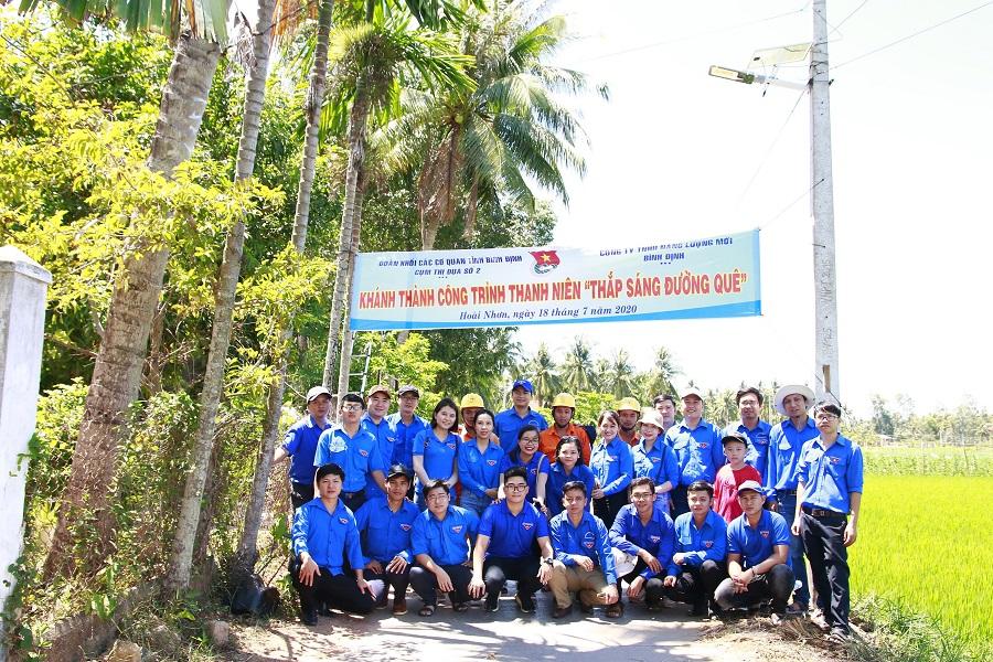 Chi đoàn TN CSHCM Cục Quản lý thị trường tỉnh Bình Định tham gia ra quân chiến dịch hè năm 2020